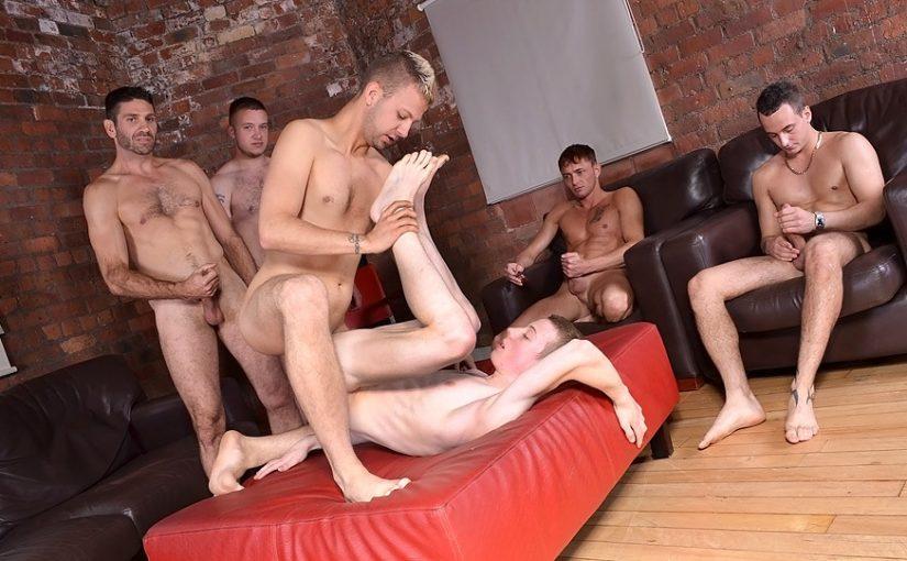 James Lewis And Luke Desmond Orgy
