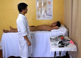 Kinky Asian Doctor Barebacks Rave