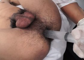 Kinky Gay Asian Anal Medical Exam