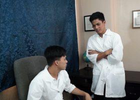Kinky Asian Twink Doctors Bareback Fuck
